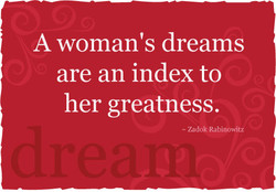 A woman's dreams 