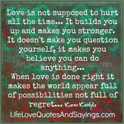 Léve is not suppdped to hurt 