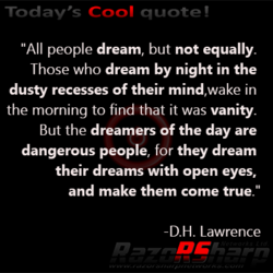 Today's coo' quote!