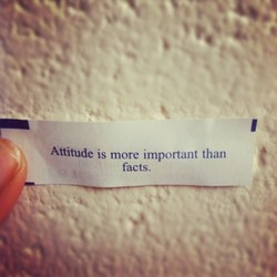 Attitude is more important than 