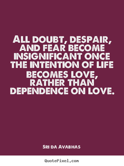 ALL DOUBT, DESPAIR, 