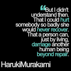 'Gut I didnt 