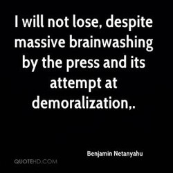 I will not lose, despite