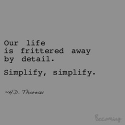 Our life 