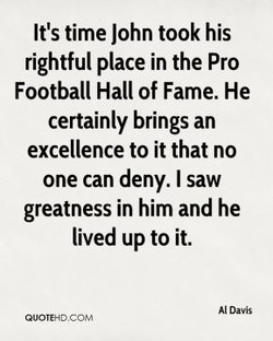 It's time John took his 