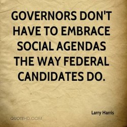 GOVERNORS DON'T 