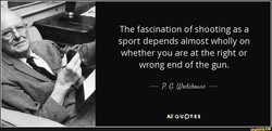 The fascination of shooting as a 