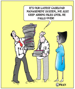 IT'S OUR LATEST CASELOAD 