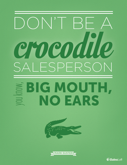 DON'T BE A 