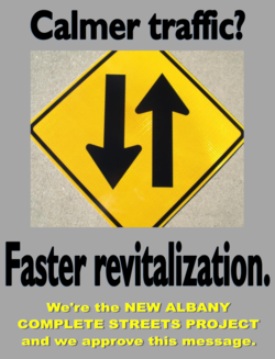 Calmer traffc? 