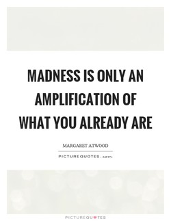 MADNESS IS ONLY AN 