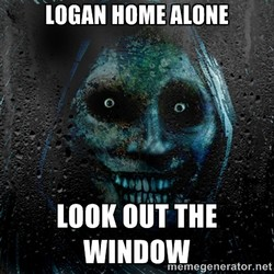 LOGAN HOME ALONE 