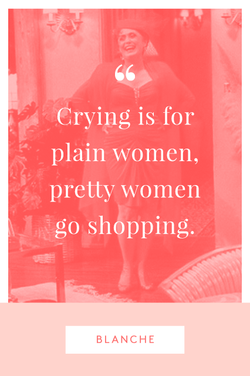 Crying is for 