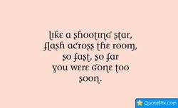Ilke a >fiootlnd star, 