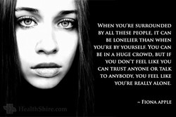 WHEN YOU'RE SURROUNDED 