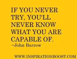 IF YOU NEVER 