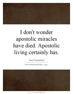 I don't wonder 