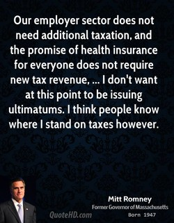 Our employer sector does not 