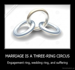 MARRIAGE IS A THREE-RING CIRCUS 