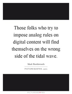 Those folks who try to 