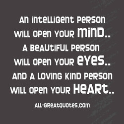 An inteLLiGent peRson 