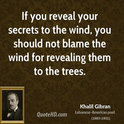 If you reveal your 