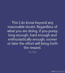 This I do know beyond any 