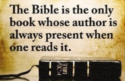 Tme Bible is the only 