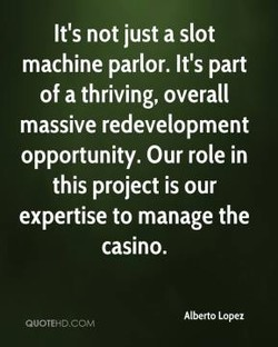 It's not just a slot 