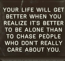 YOUR LIFE WILL GET 