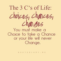 The 3 of Life: 