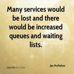 many services would 