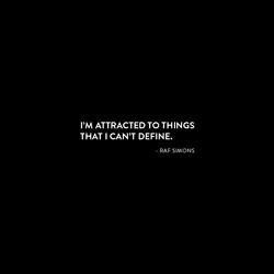 I'M ATTRACTED TO THINGS 