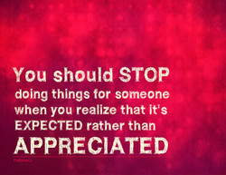 You should STOP 
