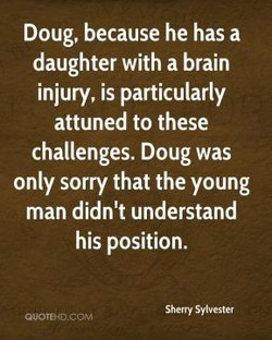 Doug, because he has a 