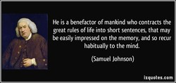 He is a benefactor of mankind who contracts the 