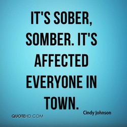 IT'S SOBER, 