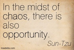 In the midst of 
