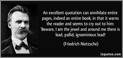 An excellent quotation can annihilate entire 