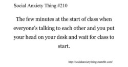 Social Anxiety Thing #210 