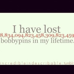 I have lost 