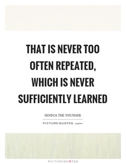 THAT IS NEVER TOO 