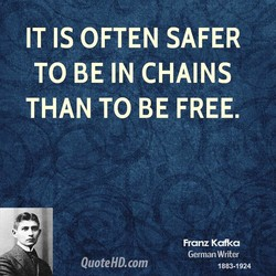 IT IS OFTEN SAFER 