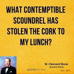 WHAT CONTEMPTIBLE 