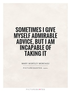 SOMETIMES I GIVE 