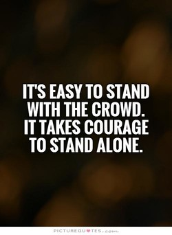 IT'S EASY TO STAND 