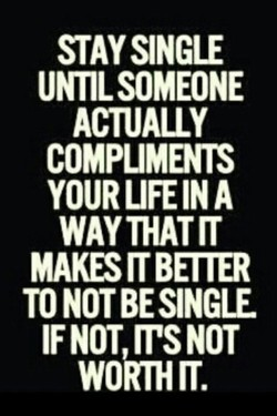 STAYSINGLE 