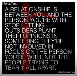 #RehabTme 