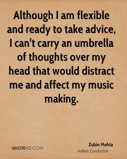 Although I am flexible 