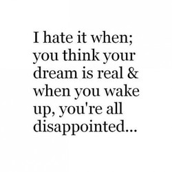 I hate it when; 